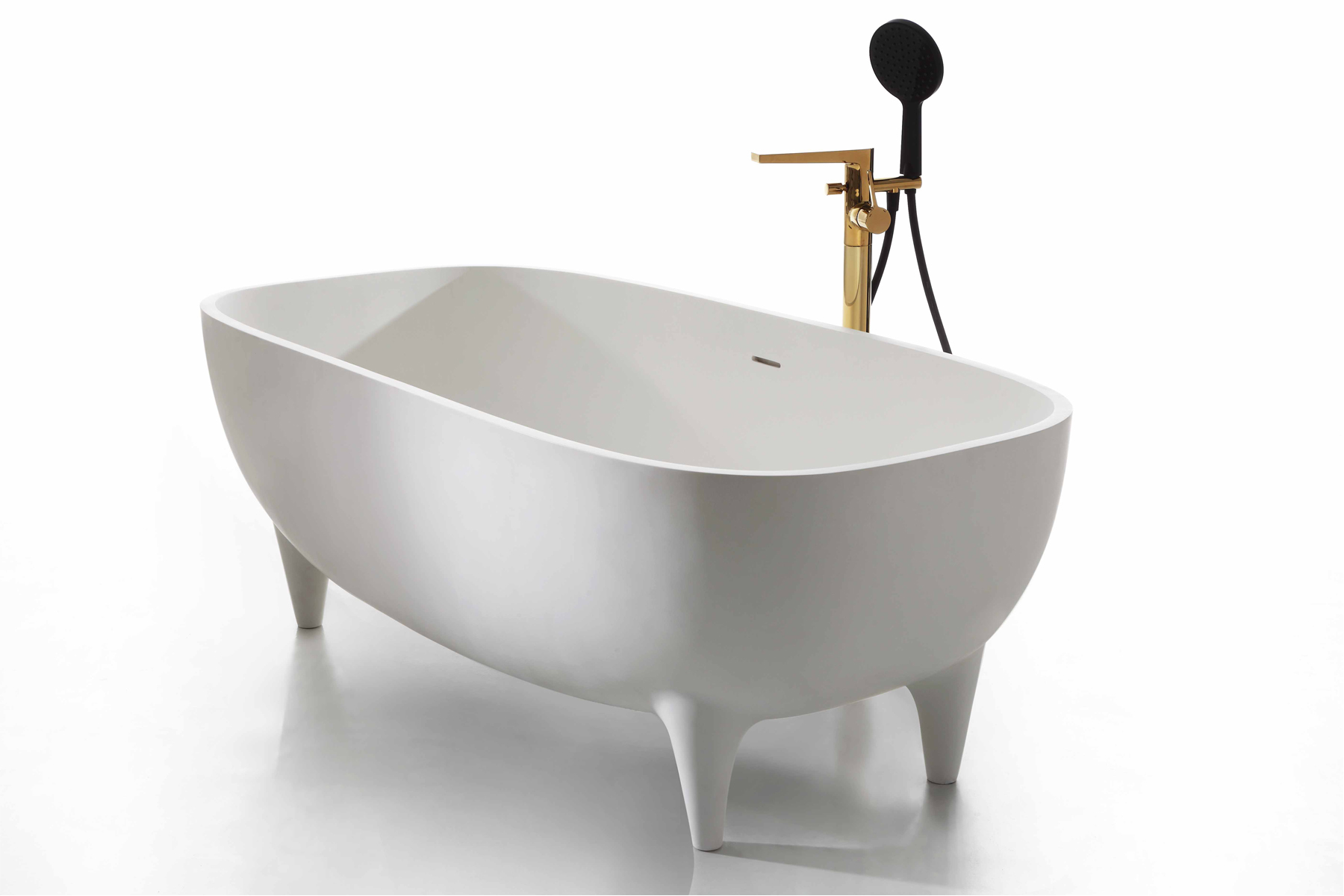 1.75m Solid Surface Free Standing Bathtub