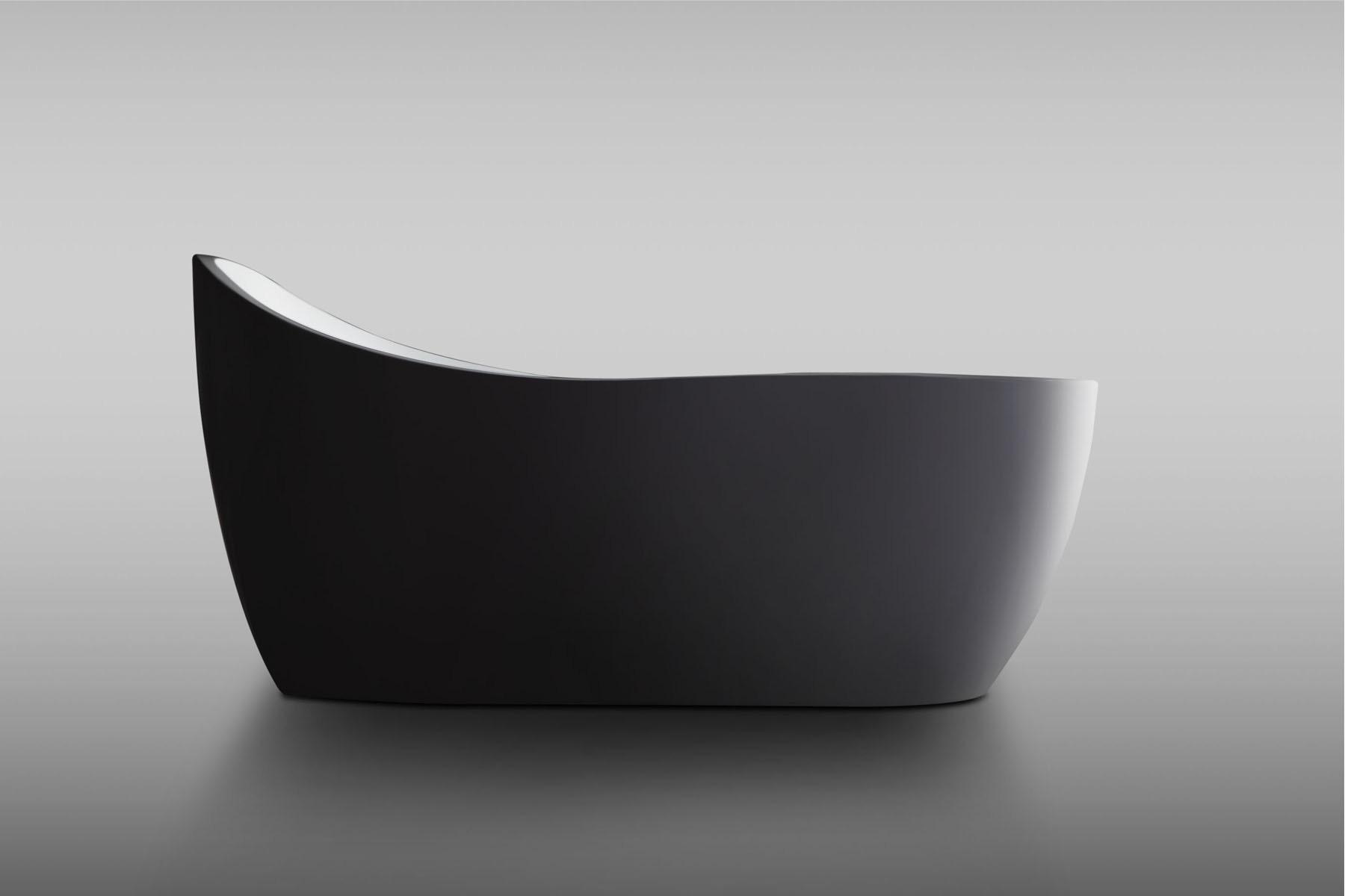 1.8m Arc Acrylic Free Standing Bathtub