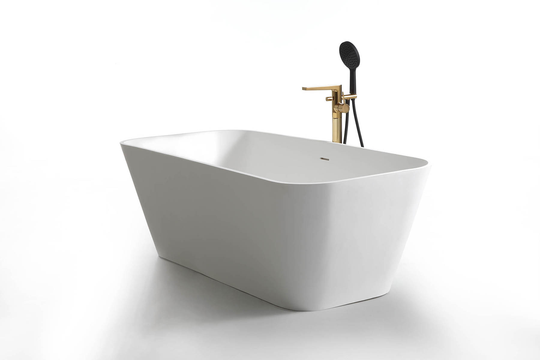 1.72m Solid Surface Free Standing Bathtub