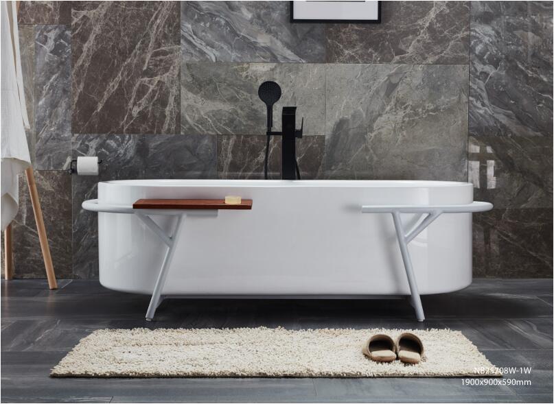 1.9m Free Standing Bathtub